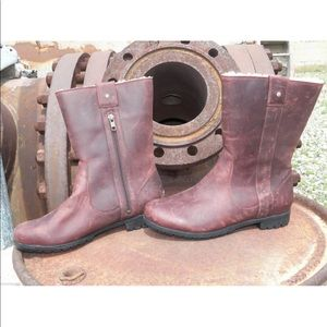 New Womens UGG Burroughs Chocolate Brown Boots